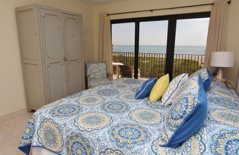 Rental bedroom at Seabreeze I.