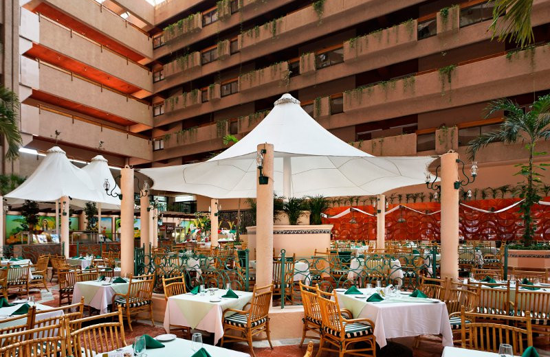 Veranda Restaurant at  Barcelo Ixtapa Beach