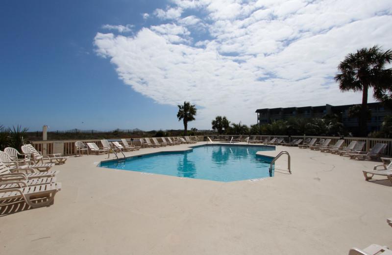 Pool at Sea Cabin 302 A.