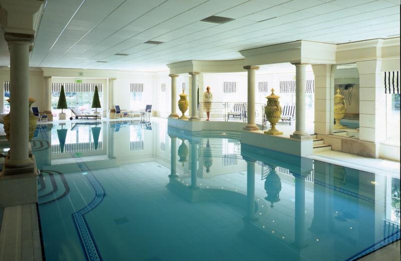 indoor pool at Keadeen Hotel.