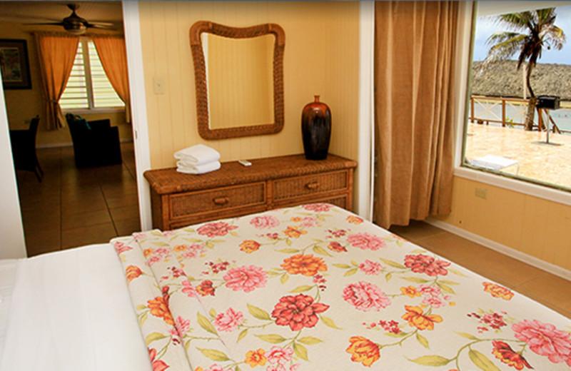 Guest room at Parador Villas del Mar Hau.