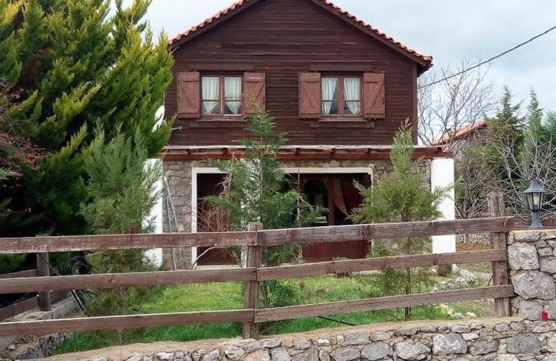 Exterior view of Arachova Houses.