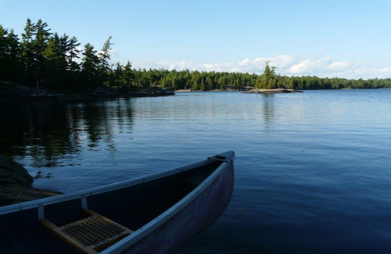 Canoeing at Fishing at Wolseley Lodge.