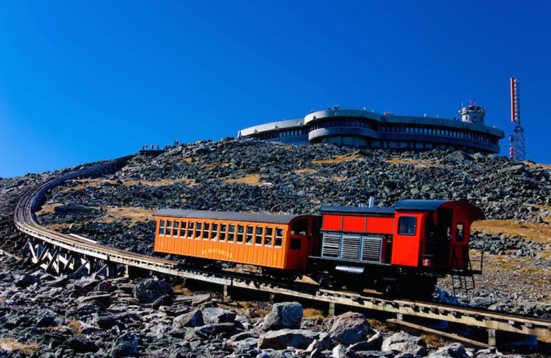 COG Railway near Mountain View Grand Resort.