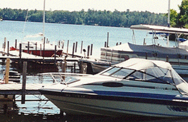 Boat Dock at Gruben's Marina