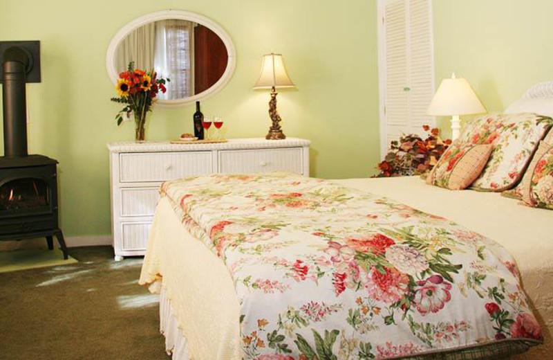 Guest bedroom at Chelsea Garden Inn.