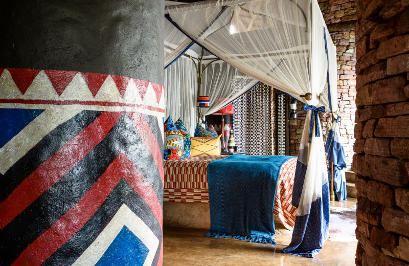 Guest room at Singita Pamushana Lodge.