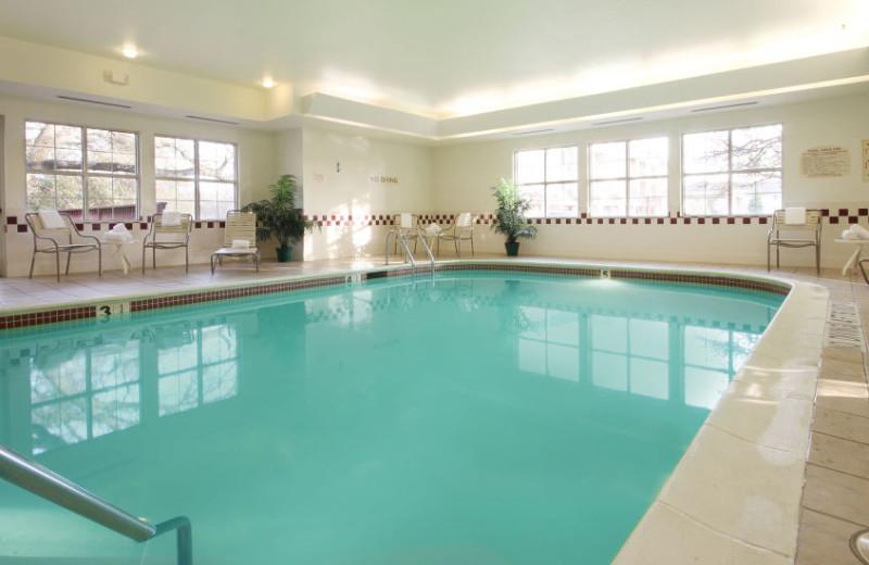 Indoor pool at Residence Inn Roseville.
