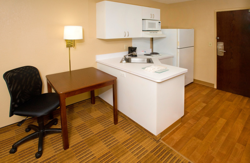 Guest kitchen at Extended Stay America Phoenix - Scottsdale.