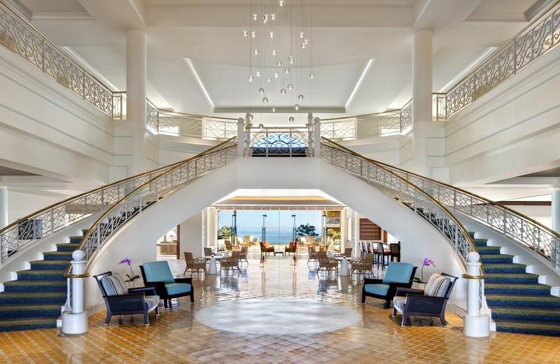 Lobby at Loews Coronado Bay Resort.