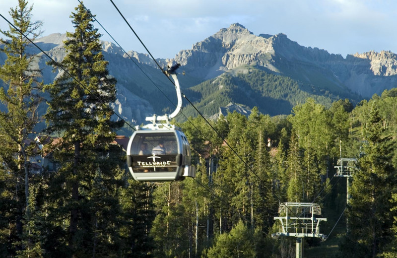 Gondola at Mountain Lodge Telluride.