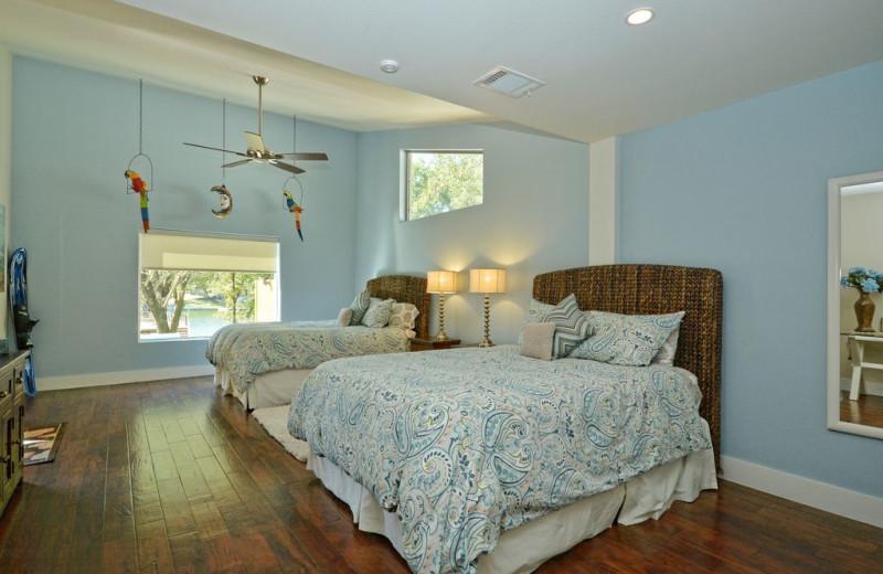 Rental bedroom at Villa Manana.
