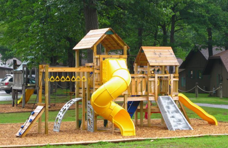 Playground at Chanticleer Inn.