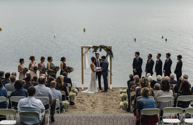Weddings at East Silent Lake Resort.