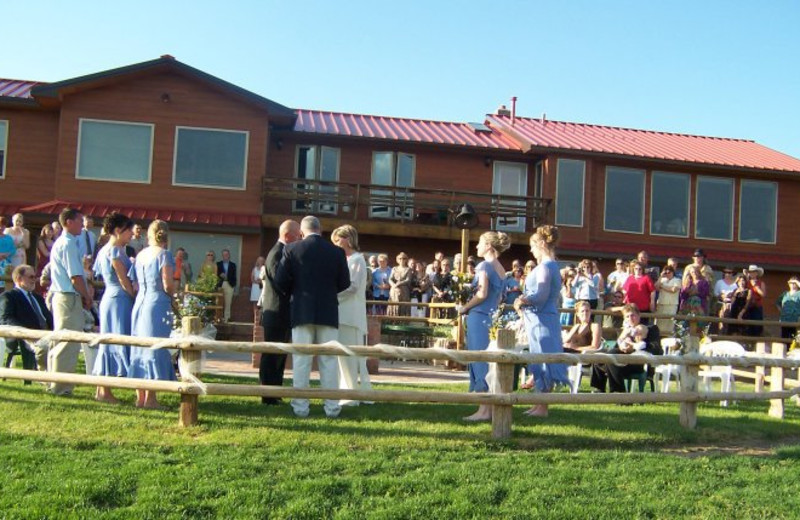Wedding at K3 Guest Ranch.