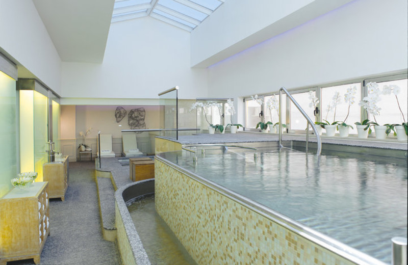 Indoor pool at Alvear Palace Hotel.