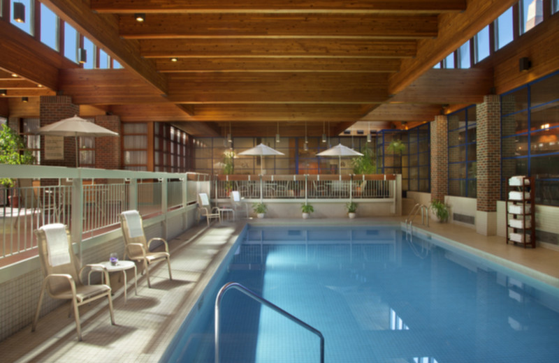 Indoor pool at Valhalla Inn.