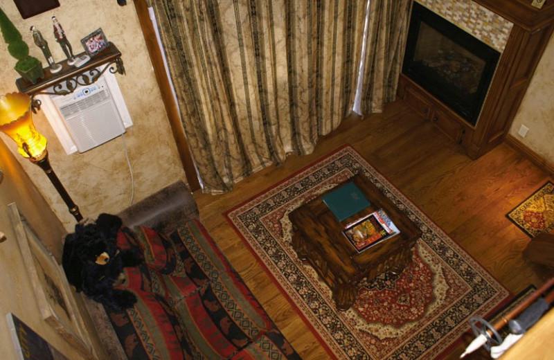 Interior view of Prospector Square Lodge & Conference Center.