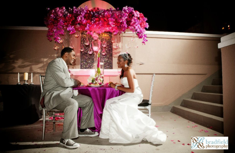 Wedding Couple at W New Orleans - French Quarter