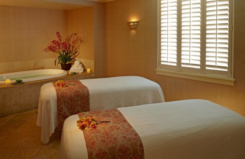 The spa at Claremont Resort and Spa.