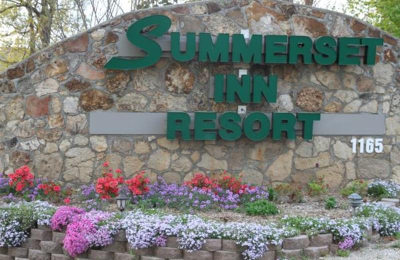 Entrance to Summerset Inn Resort