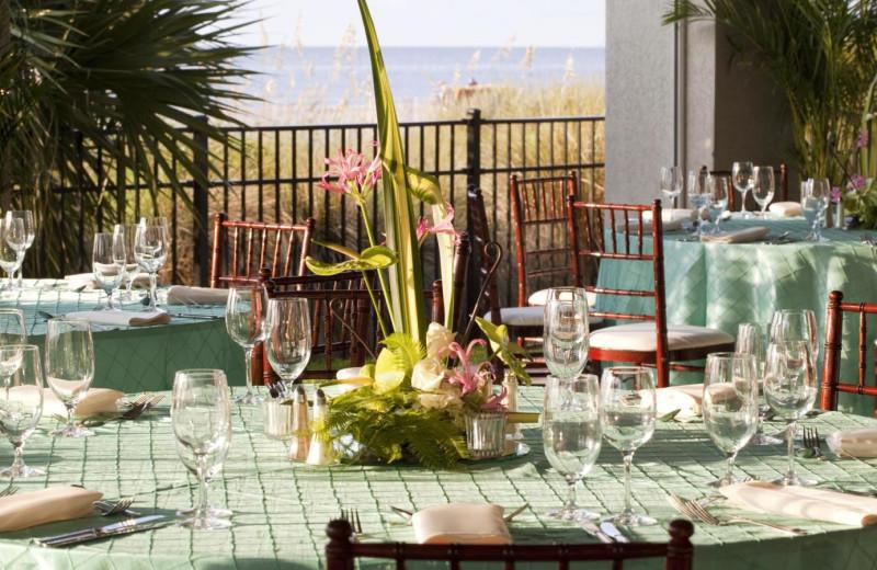 Wedding Tables at  The Westin Hilton