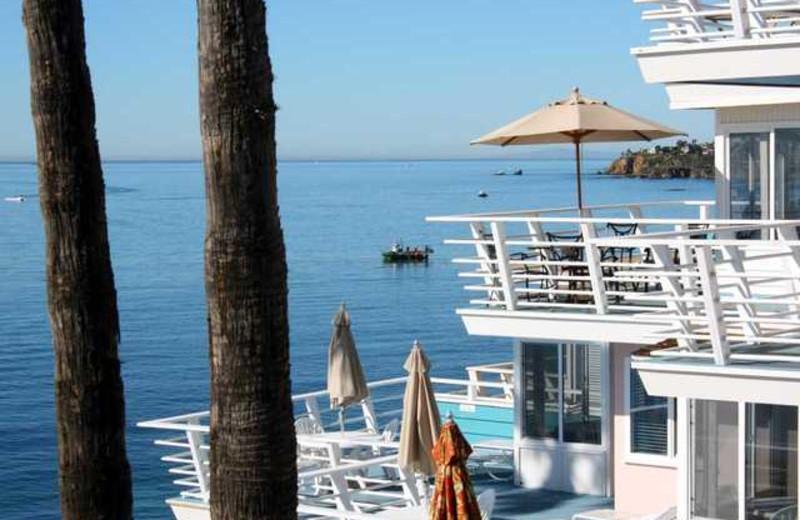Balcony view at Laguna Riviera Resort on the Beach.