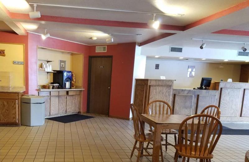 Breakfast at Bear Mountain Inn & Suites.
