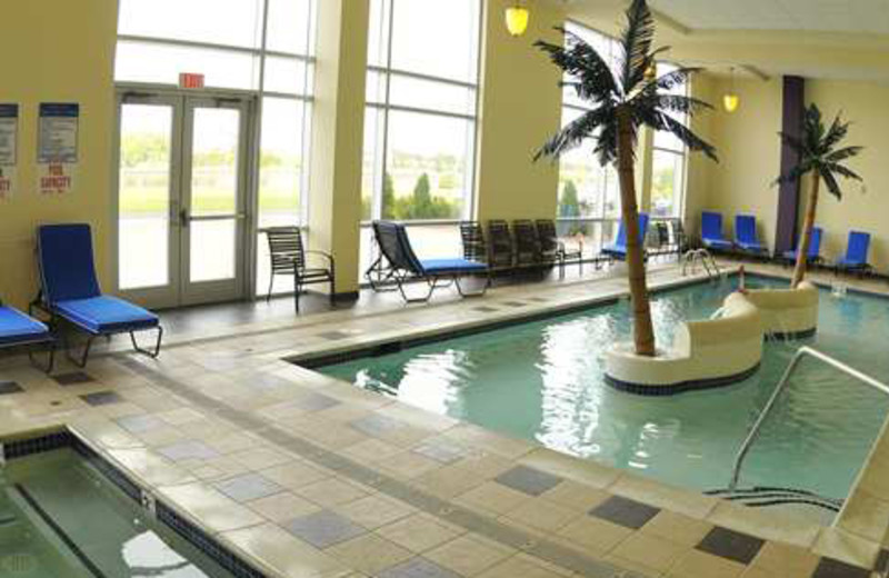 Indoor Pool at DoubleTree by Hilton Hotel Bay City