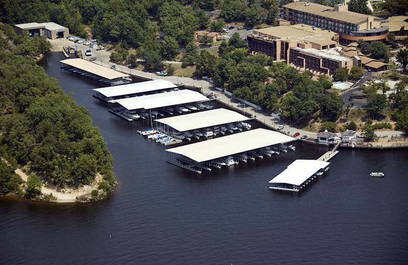 Marina at The Lodge of Four Seasons.