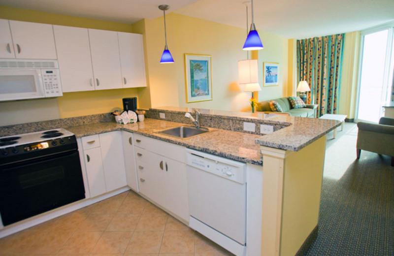 Guest kitchen at Avista Resort.