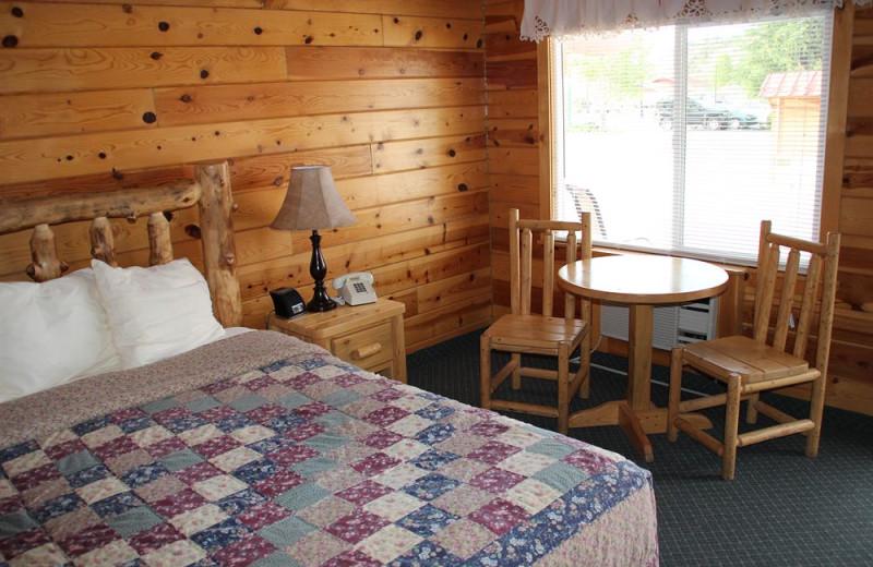 Cabin interior at Bryce Canyon Inn.
