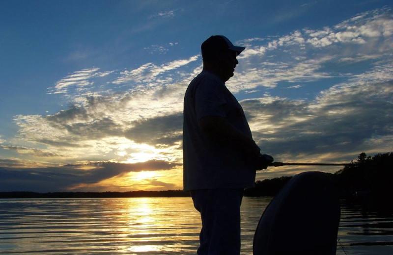 Fishing at Northland Lodge.