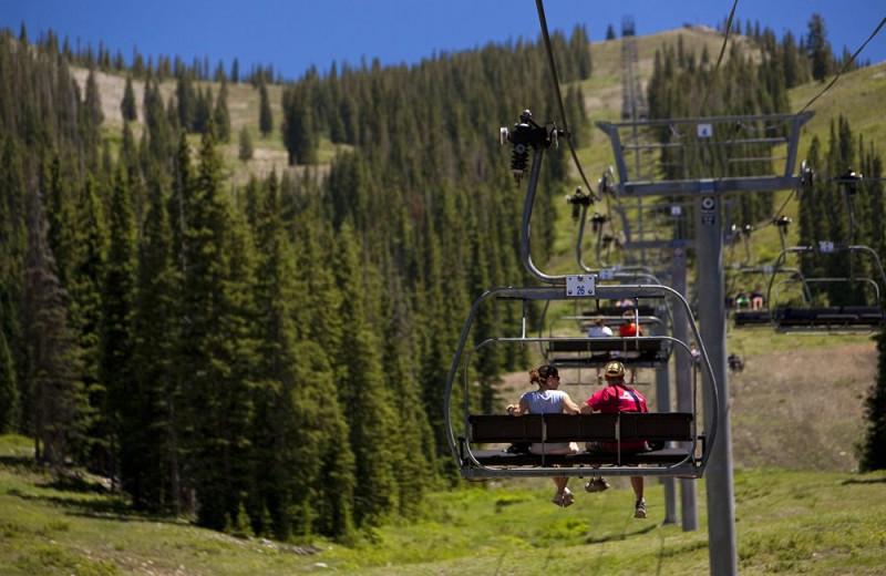 Ski lift at The Westin Snowmass Resort.