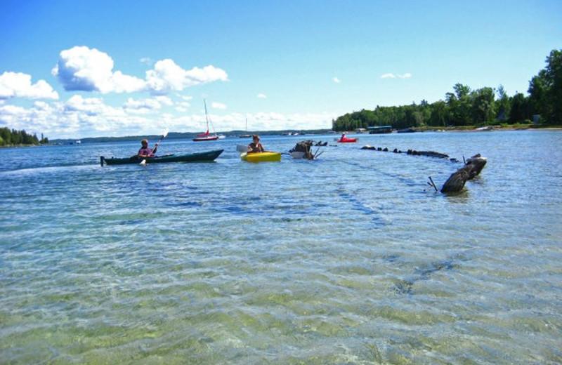 Lake Charlevoix fun near Northern Quarters Management.