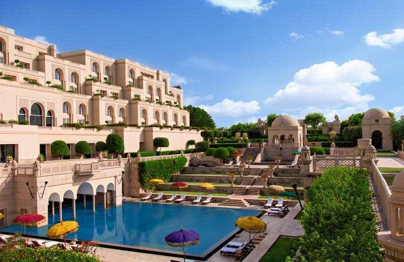 Exterior view of Amarvilas - An Oberoi Resort.