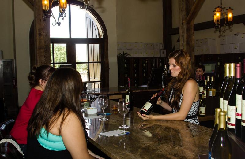 Dining at The Vineyard at Florence.