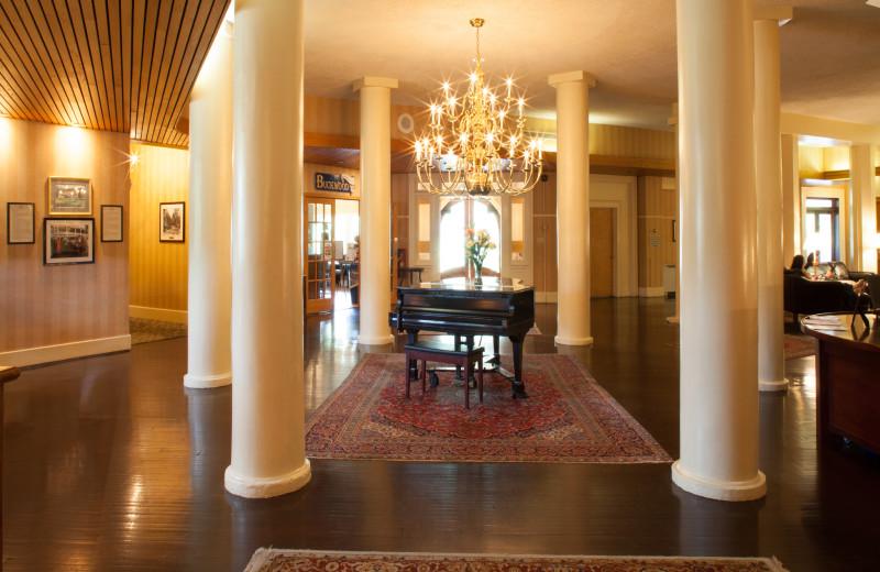 Lobby at The Shawnee Inn and Golf Resort.