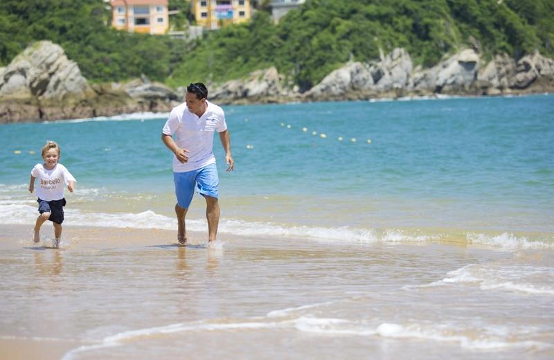 Fun Along the Beach at  Barcelo Huatulco Beach