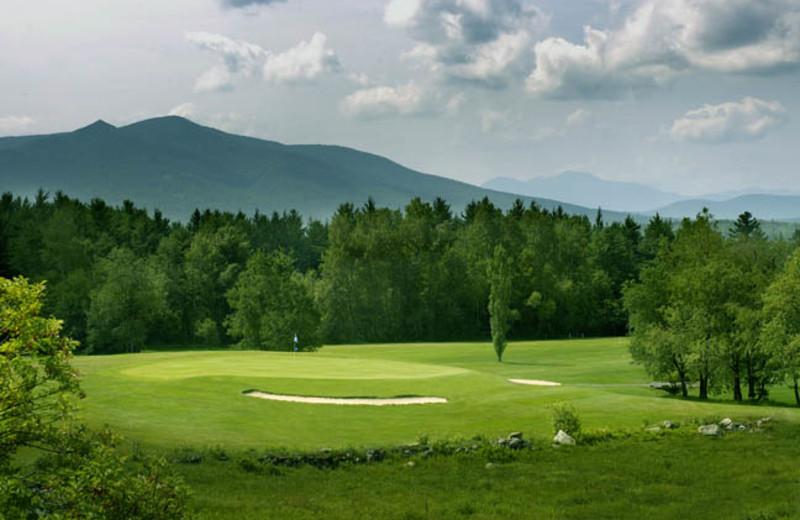 Golf course near Royalty Inn.