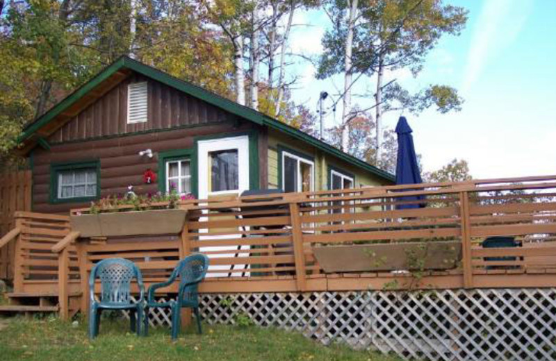 Exterior Cabin View at Lady Bug Lodge