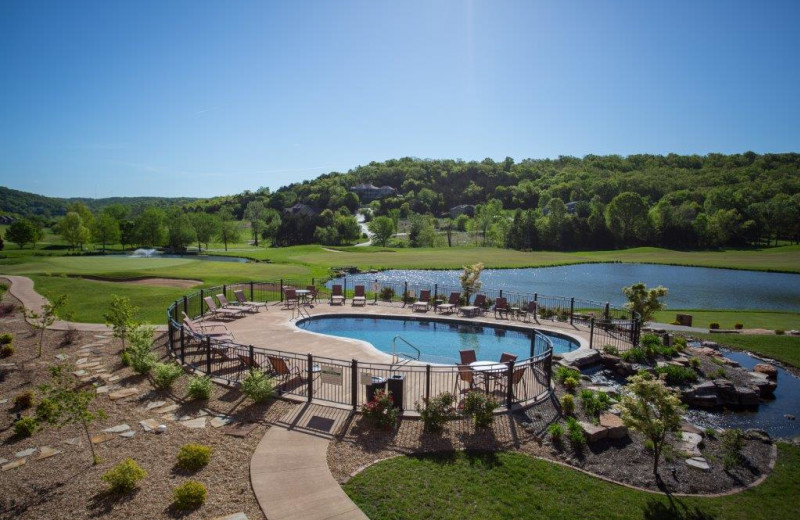 Outdoor pool at Old Kinderhook Resort & Golf Club.