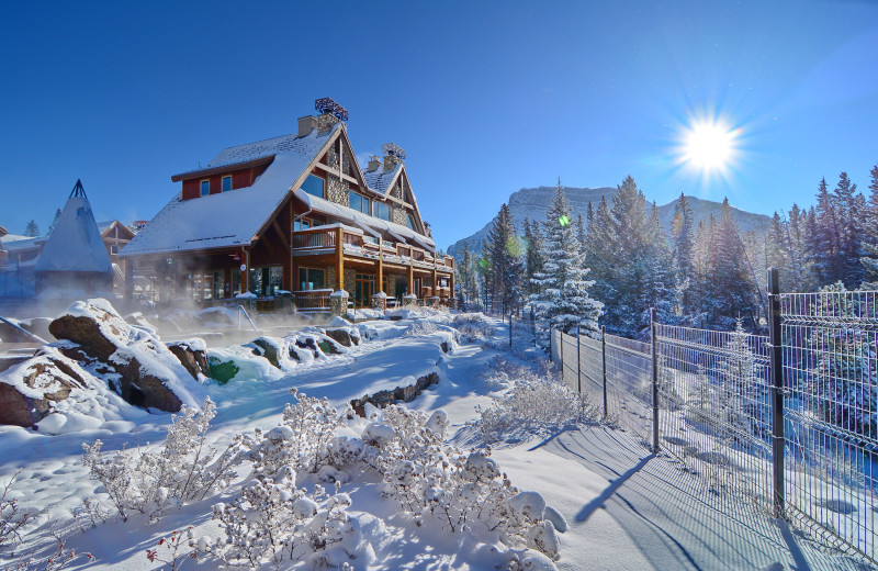 Winter at Hidden Ridge Resort.