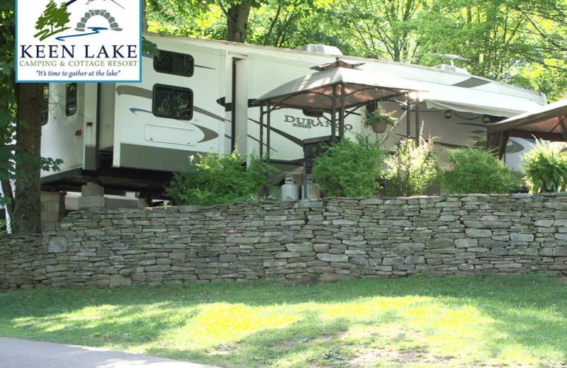 Campground at Keen Lake Camping
