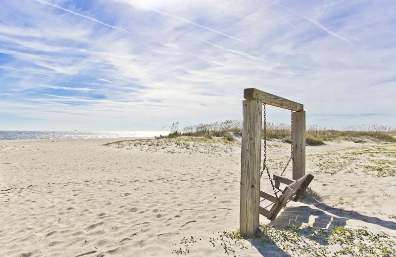 Beach at Tybee Vacation Rentals.
