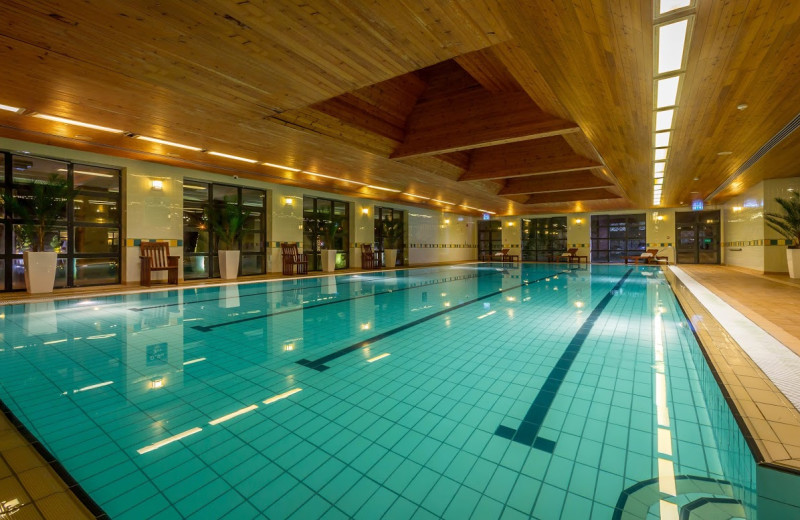 Indoor pool at Castletroy Park Hotel.