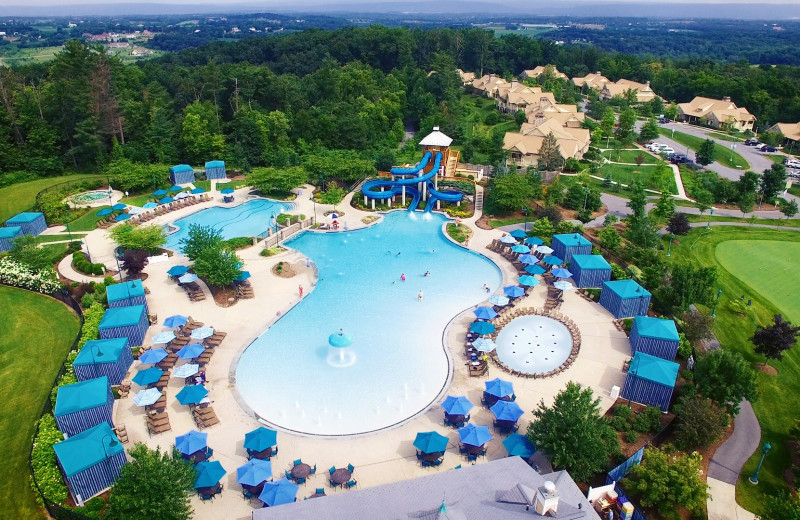 Outdoor pool at The Hotel Hershey.