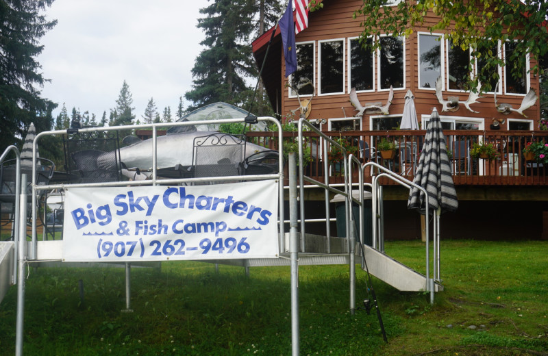 Exterior view of Big Sky Charter & Fishcamp.