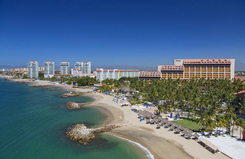 Exterior view of Westin Resort & Spa, Puerto Vallarta.