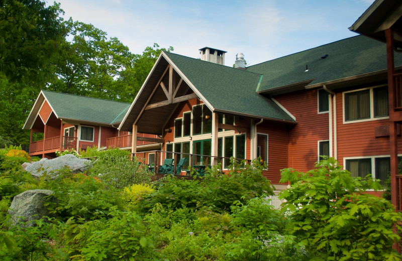 Exterior at Minnewaska Lodge.